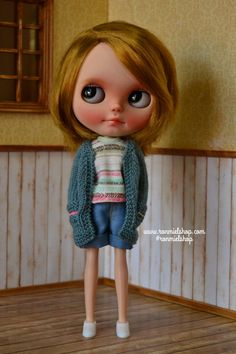 BLYTHE Rebeca Azul Hermana mayor por ronmielshop en Etsy