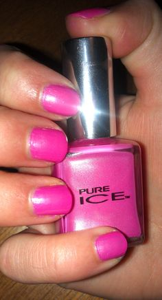 Pure Ice Polish - Peony i'm retty sure I have this color!