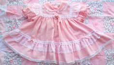 Pink Princess Dress 912 Months by lishyloo on Etsy, $12.00