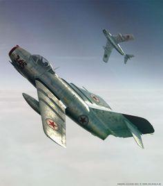 Renders 3D de cazas y aviones que parecen de verdad