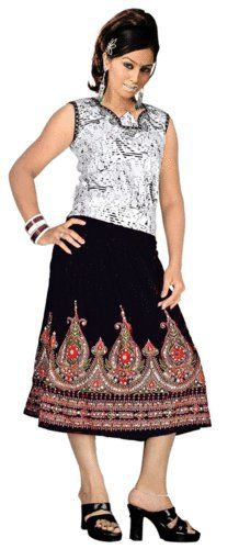 ART Black ALL Over  Skirts    For our other Products  Please visit  www.premiumtowelexportindia.com