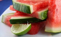tequila- soaked watermelon wedges