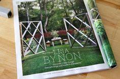 {Home & Garden} Garden Fence Veg Garden, Home And Garden, How To Plan, How To Make, Ladder Decor, Landscape, My Favorite Things, Fences, Outdoor Ideas