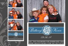 10C-3 A pop of color and a simple rose, this #graphic will complete your classy #wedding. #photobooth imagecinema.com