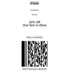 Bed Bath and Beyond Coupons Latest Bed, Mobile Offers, Store Coupons, Bath And Beyond Coupon, Zip Code, 20 Off, Printable Coupons, First Time, Fields