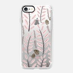 Pink Woodland iPhone 7 Case by Noonday Design | Casetify