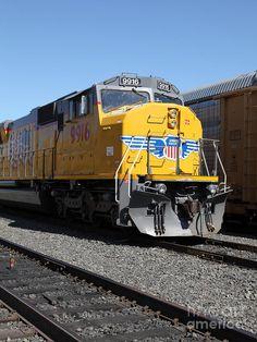 Union Pacific Locomotive Trains .