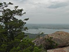 Wichita Mountains National Wildlife Refuge, near Lawton, Oklahoma kristin nador writes anywhere blog Scenic views at the top of Mt. Scott