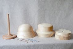 Cloche  Hat Blocks and Hat Block Stand  Cloche by EasyHatBlocks, $365.00