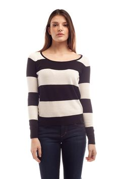 The best time to wear a striped sweater, Is all the tiiiiiiime.