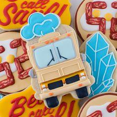 Breaking Bad RV cookie closeup by Semi Sweet Designs