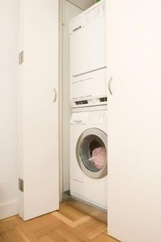 How To Install A Stacking Kit For A Front -loading Washer & Dryer