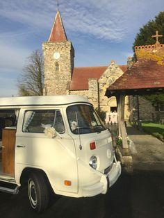 VW Camper Wedding At Filliegh, Devon. Devon Holidays, North Devon, Bays, Vw Camper, Weddings, Berries, Wedding, Marriage