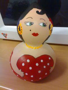 Calabazas pintadas a mano kalinu buscar con google - Calabazas decoradas manualidades ...