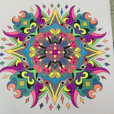 ColorIt Mandalas to Color Volume 1 Colorist: MK Cohen ( Flower Coloring Pages, Mandala Coloring Pages, Coloring Book Pages, Mandala Painting, Mandala Art, Mandala Design, African Crafts, Quilt Material, Zentangle Drawings
