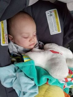 ed81759b9d70 How my family survived an 18 hour car ride with a teething 6 month old. My  travel hacks