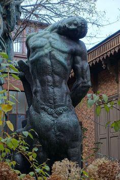 le Centaure mourant Sculpture Clay, Garden Sculpture, Antoine Bourdelle, Camille Claudel, Body Figure, Paris, Ancient Greece, Dark Art, Statues