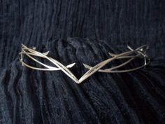 Cosplay Costumes – Galadriel tiara, The Hobbit version – a unique product by perladiluna on DaWanda