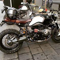 #motorandsoul #motorcycle #ninet #rubyhelmets #bmw
