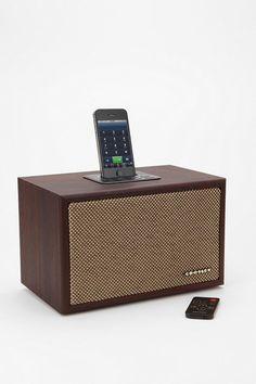 Crosley Ideco iPod Speaker Dock #urbanoutfitters