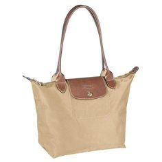 new fashion Longchamp Le Pliage Classic Medium Tote Bags Beige on sale  online 965947019fff7