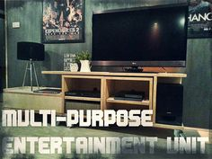 Multi-purpose Entertainment Unit : 6 Steps (with Pictures) - Instructables