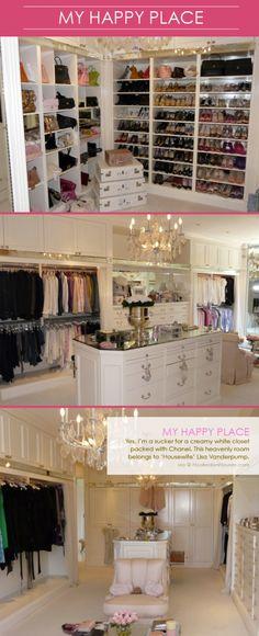 O.M.G.  What a happy closet!