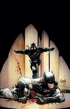Cover to Batman #5. I'm really liking the Court of Owls story arc so far. It's really pushing Bats to the limit.