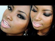 #PELENEGRA - Maquiagem Olho Preto - Por Camila Nunes - YouTube