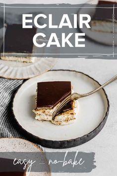 I'm sharing all my favorite chocolate recipes in preparation for Valentine's Day! For your chocolate craving or your wife's, you'll love my chocolate desserts. This no bake chocolate eclair cake recipe is so easy to make. The instant pudding in it gives a wonderful vanilla flavor paired with the chocolate frosting top. Why buy an eclair when you can make this homemade eclair cake? Low Fat Chocolate, Best Chocolate Desserts, Homemade Chocolate, Make Ahead Desserts, Easy No Bake Desserts, Dessert Recipes, Eclair Cake Recipes, Banana Pudding Recipes, Chocolate Eclair Cake