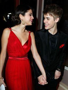 Selena Gomez and Justin Bieber Selena Selena, Selena Gomez Y Justin, Selena Gomez Fotos, Justin Bieber And Selena, Then And Now Photos, Evening Dresses, Prom Dresses, Vanity Fair Oscar Party, Celebs