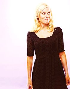 Amy Poehler From SNL and Parks and Rec.
