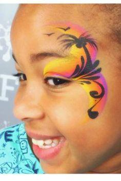 Heather Green tropical eye design