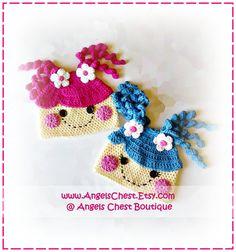 Lala Loopsy Lalaloopsy Doll Inspire Crochet Hat por AngelsChest, $6,99