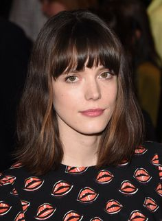 Stacy Martin - French actress