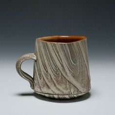Akira Satake ::: The inside of the cup is a different color and texture from the outside of the cup. I like that.