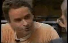 "serial-killlin-it: "" Lights flicker out during Ted Bundy's last interview with James Dobson as a result of testing the electric chair just hours before Bundy's execution. Dobson: ""they were down for about 20 seconds and then they came back on. And..."