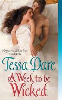A Week to Be Wicked (Spindle Cove #2)  by Tessa Dare // Historical Romance