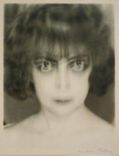 Man Ray, American, Marquise Casati, 1922