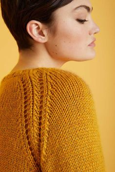 Free Knitting Pattern for a Cabled Raglan Cardigan