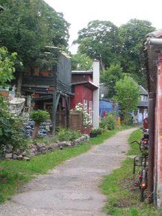 Freetown Christiania, Copenhagen, Denmark