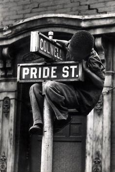 Pride Street, William Eugene Smith, Pittsburgh, PA, 1955.