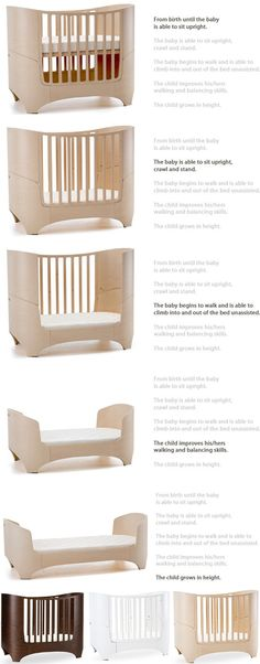 The Tulip baby bed from Leander | Lucky Boy