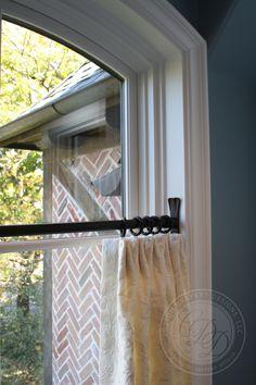 Custom Drapery Designs, LLC. - Drapery Drapery Designs, Arched Windows, Tie Backs, Window Treatments, Stained Glass, Walls, Curtains, Ideas, Home Decor