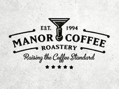 Dribbble - Manor Coffee (Gif) by Joe White