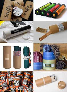 Paper Tube Packaging for Tshirts and Clothing