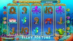 Don't you mind fishing together with the Fishy Fortune #slot? NetEnt created this nice 5-reel, 10-payline Fishy Fortune game and filled it with cute fishes, oysters, crabs, treasure chests, and useful features. Here you'll find Wild and Scatter symbols, up to 30 Free Spins and the Progressive Jackpot. Get ready for rewarding fishing at www.SlotsUp.com.