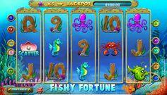 Fishy Fortune #Spielautomat von #NetEnt! Schon gespielt ohne Ameldung? Hier wirst du mega viel Spass haben - [beryeuge dich selbst!