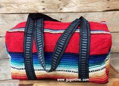 Fiesta Weekender Duffle Bag Red