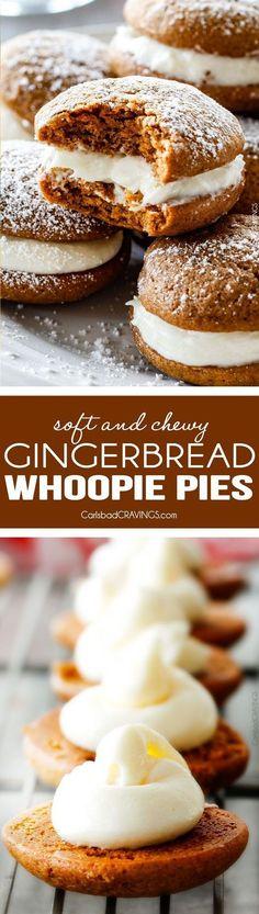 Gingerbread Whoopie